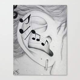 Musical Cognizance Canvas Print