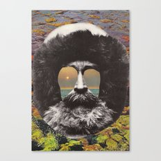 Paradise Man Canvas Print