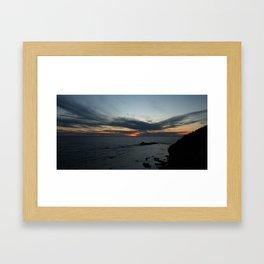 Newfoundland Sunset Framed Art Print