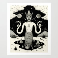 It Rose From the Depths Art Print