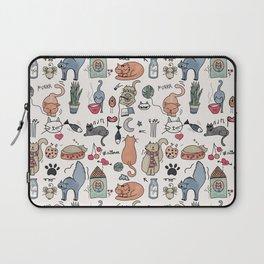 Cats Life Laptop Sleeve