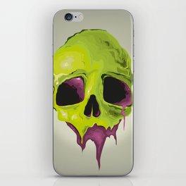Liquid Skull iPhone Skin