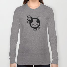 Type Face Long Sleeve T-shirt