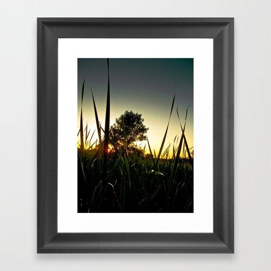 Slice of the Sky Framed Art Print