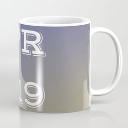Spring 19 Blue and Gold Limited Edition Coffee Mug