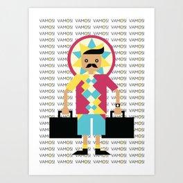 VAMOS! Art Print