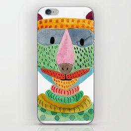 Cute Bear Watecolor iPhone Skin