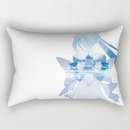 Princess Serenity - Blue Silver Millenium Rectangular Pillow