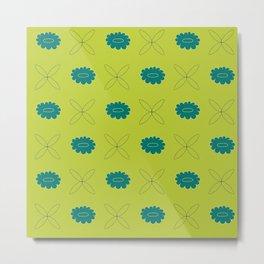 flower pattern ii Metal Print