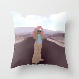 Take a Pic Throw Pillow