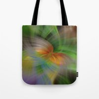 flight Tote Bags featuring Flight by Deborah Janke