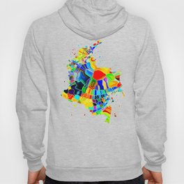 Colombia Map Hoody
