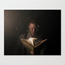 Immersed With Hemingway Canvas Print