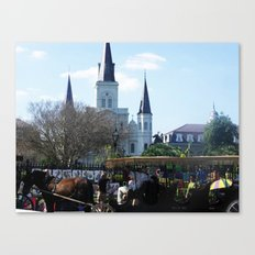 New Orleans Castle Canvas Print