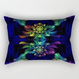 Rainbow flowers Rectangular Pillow