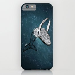 the universe wall iPhone Case