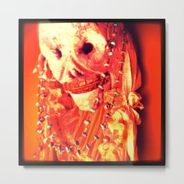Day of the Dead Chroma Hot Metal Print