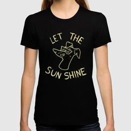 Let the sun shine - Italian greyhound - Yellow T-shirt