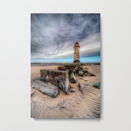 Talacre Light House Metal Print