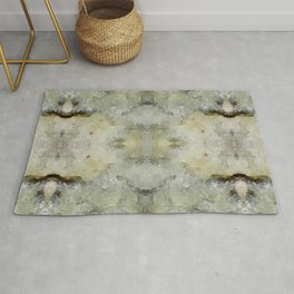 Abstract marble pattern Rug