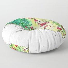 Sonoma County Floor Pillow