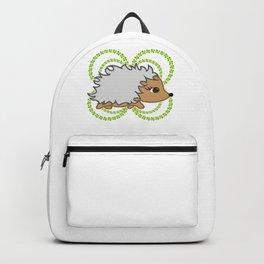Cute Hedgehog Lover Gift Fun Hedgie Lover Gift Backpack