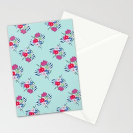 Petite Light Blue Summer Stationery Cards