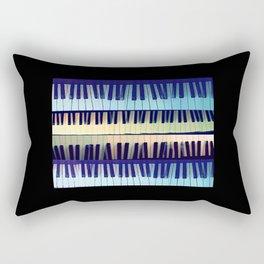 piano1 Rectangular Pillow