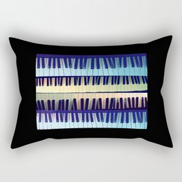 piano1 Rectangular Pillow