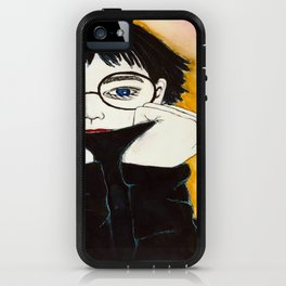 Hiding Insecurity iPhone Case