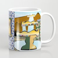 mexico Mugs featuring Mexico by DARWIN STEAD