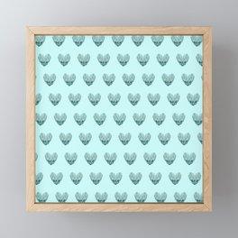 My heart for you Framed Mini Art Print