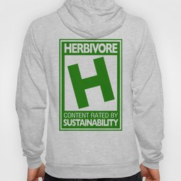 Rated H for Herbivore Hoody