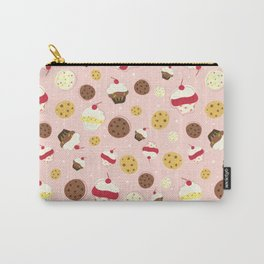 Cupcakes and Cookies Carry-All Pouch