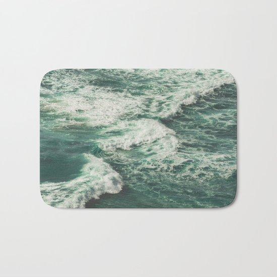 Wave Swirl Bath Mat