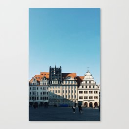 Leipzig Rooftops Canvas Print