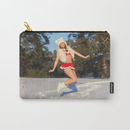 christmas girl Carry-All Pouch