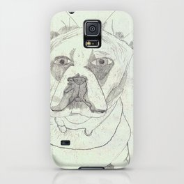 Dog Drawing iPhone Case