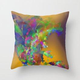 The creative smoker Throw Pillow