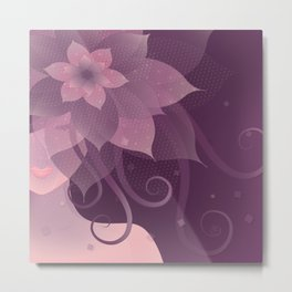 The Elegant Bride Metal Print