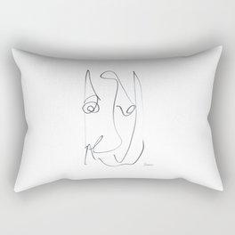 Demeter Moji d9 5-3 w Rectangular Pillow