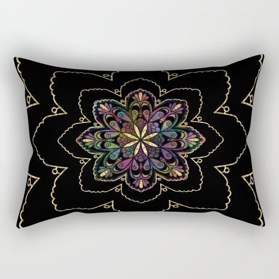 Mandala of Wishes Rectangular Pillow