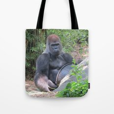 Gorilla Says Tote Bag