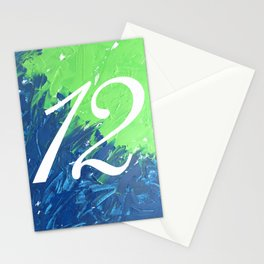 Blue & Green, 12, No. 3 Stationery Cards