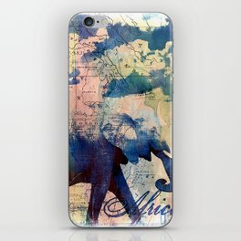 Elephants Journey iPhone Skin