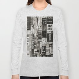 Signs of Tokyo Long Sleeve T-shirt