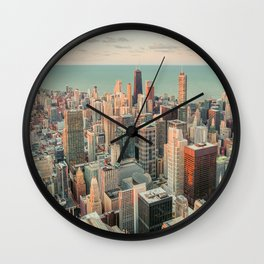 CHICAGO SKYSCRAPERS Wall Clock