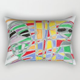 Alienopoly Rectangular Pillow