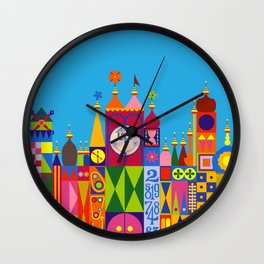 It's a Small World Wall Clock