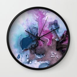 Abstract Universe Wall Clock